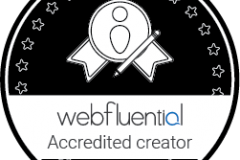 Webfleuntial-Accreditated-Content-Creator